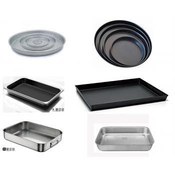 Teglie inox alluminio antiaderente