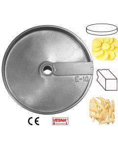 Disco per affettare 10 mm x tutti Chef Ø 205 Celme