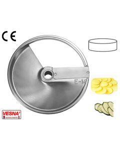 Disco lama per affettare spessore 14 mm x tutti Chef Ø 205 Celme