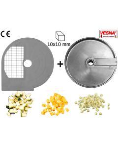Dischi per cubettare 10x10 mm Ø 250 x tutti Chef  300-400 Celme
