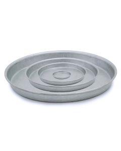 Teglie in ferro alluminato da Ø 14 a 40 x h 2,5 cm
