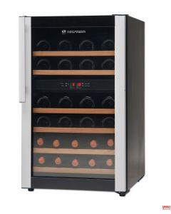 Cantinetta doppia refrigerazione libera istallazione 32 Pz 0,75 Lt.