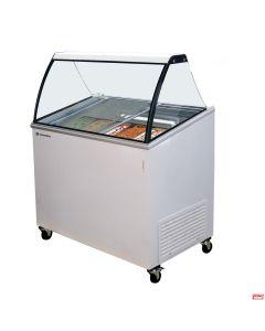 Congelatore per gelato con bacinelle °C -22° ~ 12°