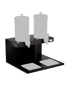 Base in MDF doppia per distributori succo nuda