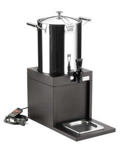 Distributore bevande calde con resistenza Wengè cm 46x25xh61