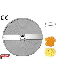 Disco per affettare taglio 4 mm x tutti modelli Chef Ø 205 Celme E4 AK