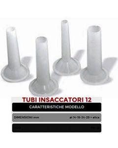 Tubi insaccatori per tritacarne MEM 22 ø mm + elica
