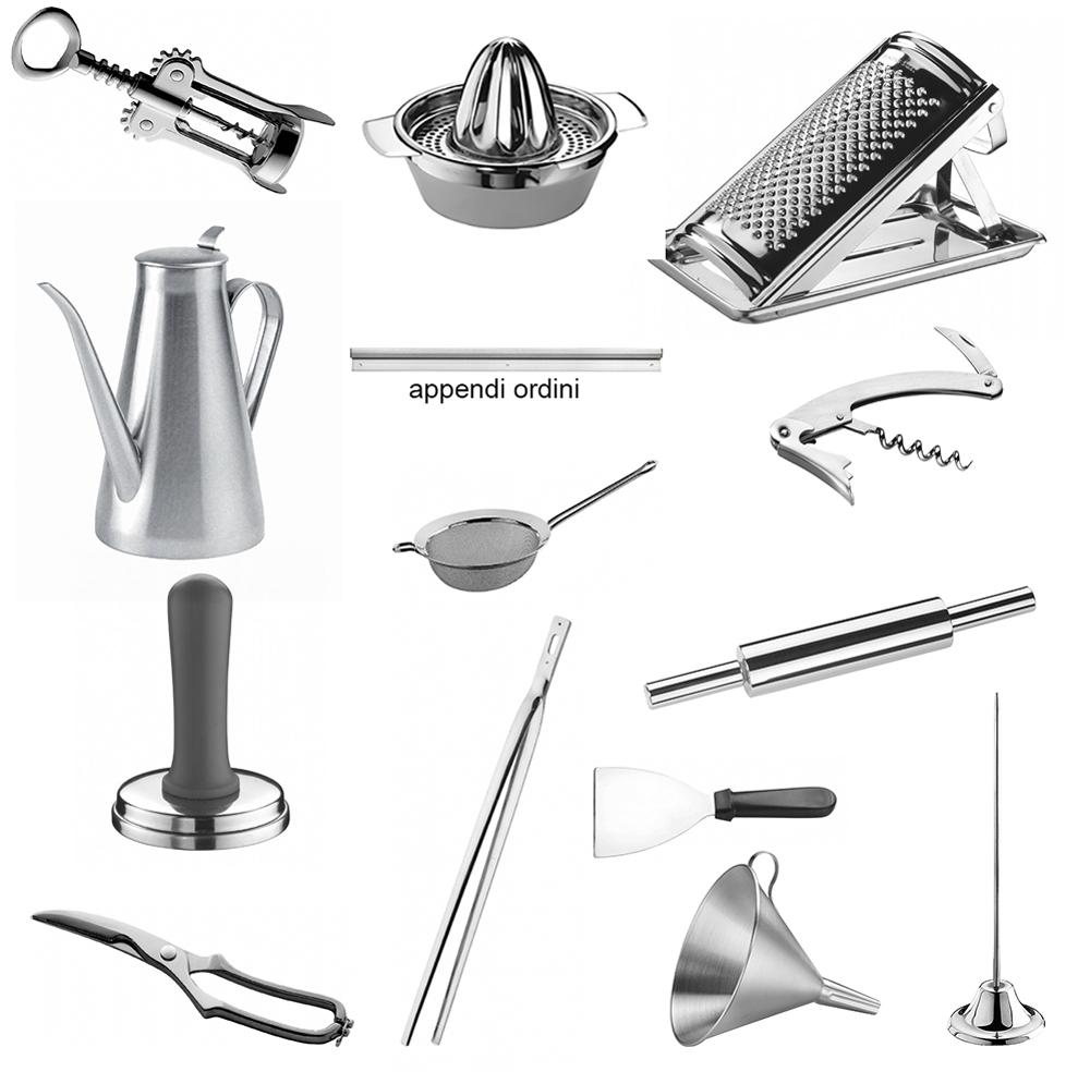 Awesome appendi utensili da cucina images ideas design - Portamestoli ikea ...